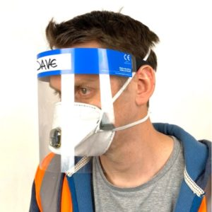 PPE Mask with Foam backing